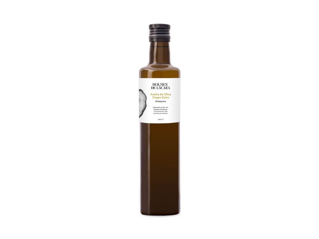 aceite de oliva arbequina dolmen de lácara